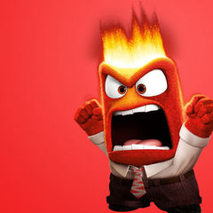 angry person